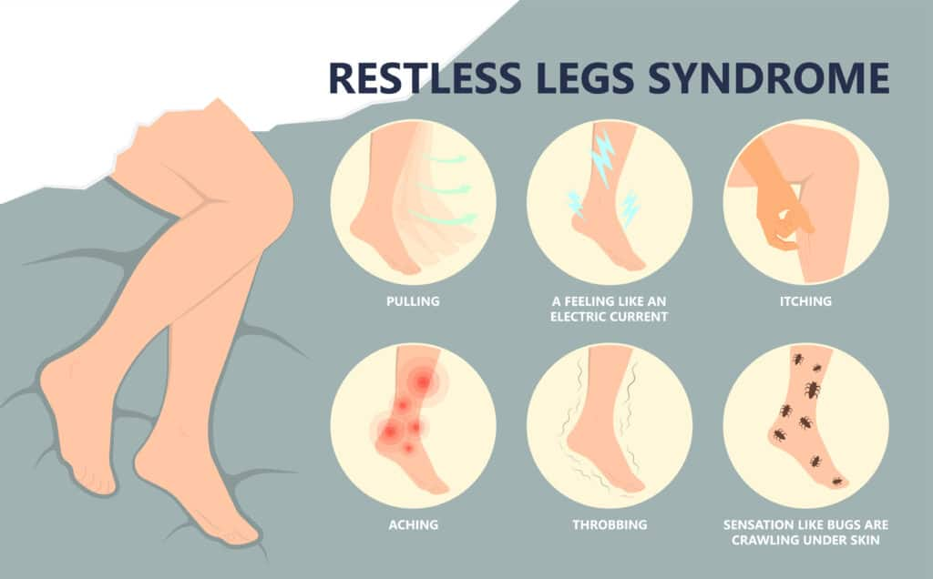 symptoms of restless legs syndrome